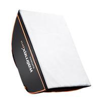 Walimex camera kit: pro Softbox Orange Line 50x70 - Zwart, Wit
