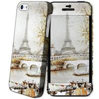 I-Paint mobile phone case: Hard Case + Skin for Apple iPhone 5/5s - multi - Multi kleuren
