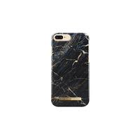 Ideal Fashion mobile phone case - Zwart, Goud, Marble colour