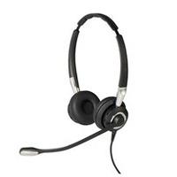 Jabra Biz 2400 II QD Duo NC Wideband Balanced Headset - Zwart, Zilver