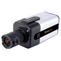 Brickcom beveiligingscamera: FB-100AE, LED, 1MP, H.264/MPEG-4/MJPEG, PoE - Zwart, Zilver