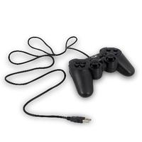 Play game controller: Wired USB Gamepad for PC - Zwart