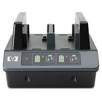HP 2-bay Battery Charging Station - Requires use of one Battery Adapter Kit for each battery slot (not included with .....
