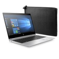 HP laptop: EliteBook x360 x360 1020 G2 en Black Leather Sleeve - Zilver
