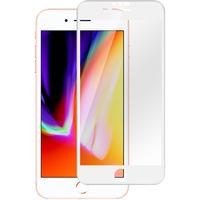 Estuff screen protector: Apple iPhone 6+/6S+/7+/8+ Cu W - Transparant, Wit