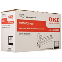 OKI drum: Black image drum for C5650/5750 - Zwart