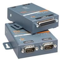 Secure device server with 1 serial port