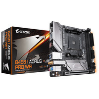 Gigabyte AMD B450 AORUS Motherboard with 4+2 Phase IR Digital PWM, Intel Dual Band 802.11ac Wave2 WIFI, M.2 .....
