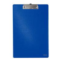 Esselte 340x220mm, A4, blauw Klembord