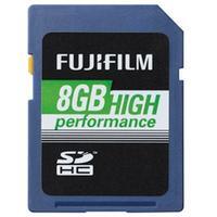 Fujifilm flashgeheugen: 8GB High Performance SDHC Class 10