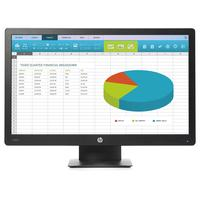 HP monitor: ProDisplay P203 - Zwart