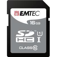 Emtec flashgeheugen: 16GB SDHC - Zwart