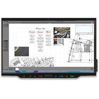 Smart Board 7086 Pro series interactive touchscreen monitor - Zwart