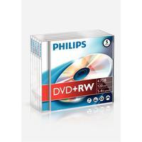 Philips DVD+RW 5-pack