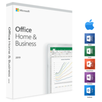 Microsoft Office 2019 Home & Business (Direct Download) voor PC of Mac Software suite