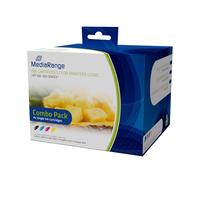 MediaRange inktcartridge: MRHP920 - Zwart, Cyaan, Magenta, Geel