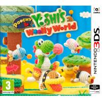 Nintendo game: Poochy + Yoshi Woolly World  3DS