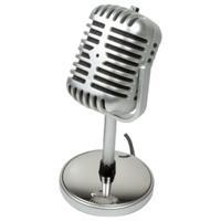 LogiLink microfoon: -44±3 dB, 20 - 20000Hz, 1.9m, 3.5 mm - Zilver