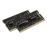 HyperX RAM-geheugen: Impact 8GB DDR4 2400MHz Kit - Zwart