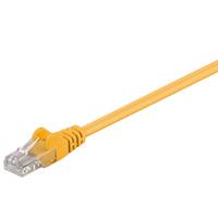 Microconnect netwerkkabel: CAT5e UTP 3m - Geel