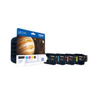 Brother inktcartridge: LC-1240VALBPDR - Zwart, Cyaan, Magenta, Geel