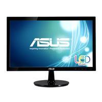 ASUS monitor: VS207T-P - Zwart