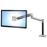 Ergotron monitorarm: LX Series LX HD Sit-Stand - Aluminium