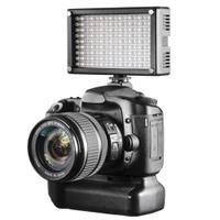 Walimex camera flitser: LED Video Light Bi-Color 144 LED - Zwart