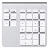 Belkin : YourType - Aluminium, Wit