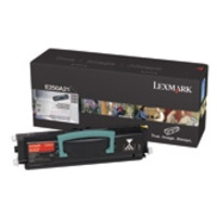 Lexmark cartridge: E35x Toner Cartridge - Zwart