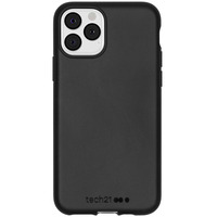 Antimicrobial Backcover iPhone 11 Pro - Black - Zwart / Black Mobile phone case