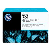 HP inktcartridge: 761 donkergrijze DesignJet inktcartridge, 400 ml - Donkergrijs
