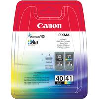 Canon inktcartridge: PG-40, CL-41 - Zwart