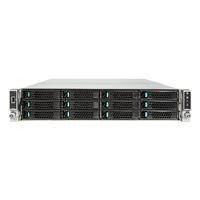 Intel behuizing: Server Chassis R2312WTXXX - Zwart, Zilver