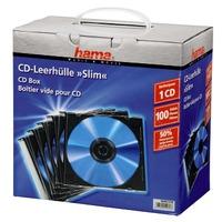 Hama CD SLIM BOX 100 PAK