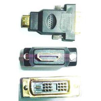 Keyteck A-HDMI-DVI-1, HDMI - DVI, M/M Kabel adapter - Zwart