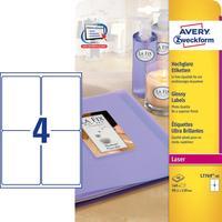 Avery Zweckform L7769-40 etiket - Wit