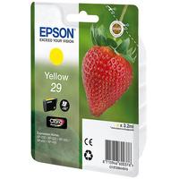 Epson inktcartridge: 29 Y - Geel