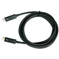 QNAP Thunderbolt kabel: CAB-TBT305M-40G-LINTES - Zwart
