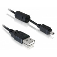 DeLOCK USB kabel: USB 1,83m - Zwart