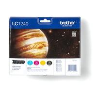 Brother inktcartridge: Inktcartridge pakket: Cyaan / Magenta / Geel / Zwart - Zwart, Cyaan, Magenta, Geel