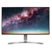 LG monitor: 24MP88HV - Zwart, Zilver, Wit
