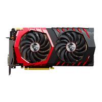 MSI videokaart: GeForce GTX 1070 Gaming Z 8GB - Zwart, Rood
