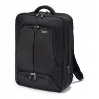 Dicota rugzak: Backpack PRO 12-14.1, Nylon - Zwart