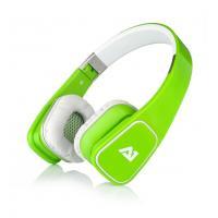 Attitude One Almaz Wired Stereo Headphones - Groen (PC + MAC + Mobile)
