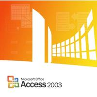 Microsoft software: Access 2003, x32, GOV, SA, 1u, OLP-NL