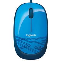 Logitech computermuis: M105 - Blauw