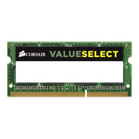 Corsair RAM-geheugen: 4GB, DDR3L, 1600MHz - Groen