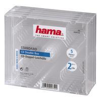 Hama 044752 Cd Dubbel-Box - 5 stuks
