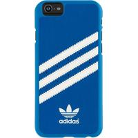 "Adidas mobile phone case: Originals Moulded Backcover for iPhone 6 4.7"", blue/white - Blauw, Wit"